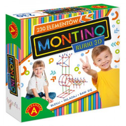 ALEXANDER MONTINO RURKI 3D 230 elementów 2268