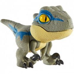Mattel JURASSIC WORLD Mini Figurka Ruchomy Dinozaur Velociraptor GLH20