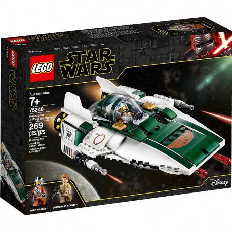 LEGO STAR WARS 75248 MYŚLIWIEC A-WING RUCHU OPORU