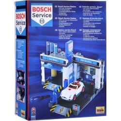 KLEIN Bosch STACJA OBSŁUGI BOSH Z MYJNIĄ I SAMOCHODEM 8647