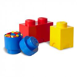LEGO Pojemniki na Zabawki MULTI-PACK S Zestaw Trzech Pojemników 4014