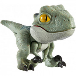Mattel JURASSIC WORLD Mini Figurka Ruchomy Dinozaur Velociraptor Charlie GLJ29