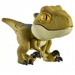 Mattel JURASSIC WORLD Mini Figurka Ruchomy Dinozaur Velociraptor Delta GLJ30