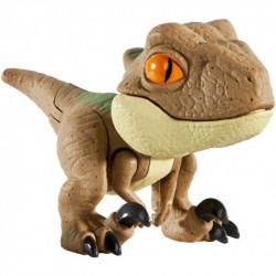 Mattel JURASSIC WORLD Mini Figurka Ruchomy Dinozaur Velociraptor Echo GLJ31