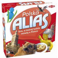 TACTIC Gra Planszowa ALIAS POLSKA 56027