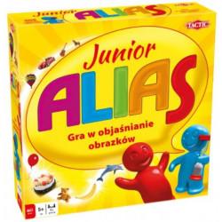 TACTIC Gra Planszowa Gra Słowna ALIAS JUNIOR KIDS DLA DZIECI 53183