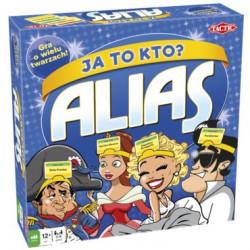 TACTIC Gra Planszowa Gra Rodzinna ALIAS JA TO KTO? 54412