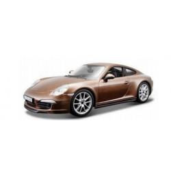 Bburago Metalowy Pojazd PORSCHE 911 CARRERA S 1:24 0657