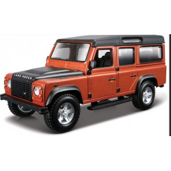 Bburago Metalowy Model do Składania LAND ROVER DEFENDER 110 Skala 1:32 451272