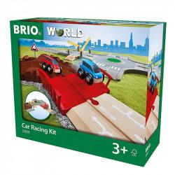 BRIO Zestaw Do Wyścigów Samochodowych 33819