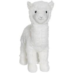 Teddykompaniet Maskotka Pluszowa Lama Duża Biała 2781
