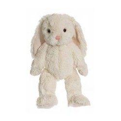 Teddykompaniet Maskotka Pluszowa Królik 30 cm Kremowy Króliczek NINA 2818