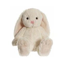 Teddykompaniet Maskotka Pluszowa Królik 35 cm Kremowy Króliczek NINA 2819
