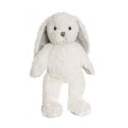 Teddykompaniet Maskotka Pluszowa Królik 30 cm Biały Króliczek NINA 2820