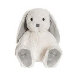 Teddykompaniet Maskotka Pluszowa Królik 35 cm Biały Króliczek NINA 2821