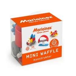 MARIOINEX Klocki Mini Wafle Zestaw Konstruktora dla Chłopców 35 elementów 90278