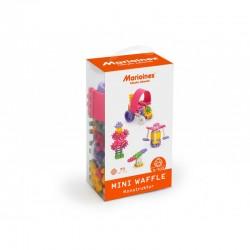MARIOINEX Klocki Mini Wafle Zestaw Konstruktora dla Dziewczynek 70 Elementów 90281