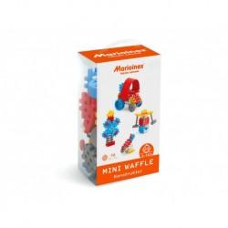 MARIOINEX Klocki Mini Wafle Zestaw Konstruktora dla Chłopców 70 Elementów 90280