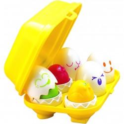 Tomy - E1581 - Jajka - Jajeczka z Dźwiękami