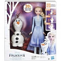 HASBRO Kraina Lodu 2 FROZEN Elsa i Olaf E5508