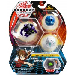 Spin Master BAKUGAN Zestaw Startowy DARKUS GORTHION 6045144