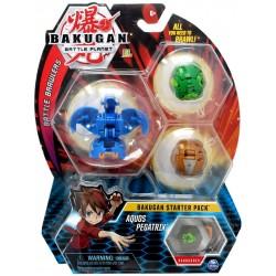 Spin Master BAKUGAN Zestaw Startowy AQUOS PEGATRIX 6045144