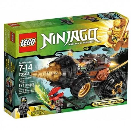 LEGO NINJAGO 70502 Wiertło Cole'a