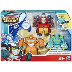 HASBRO Transformers Rescue Bots Academy CZTERY FIGURKI BOTÓW E5099