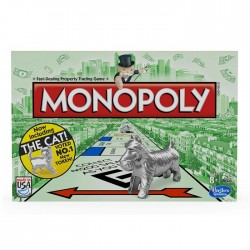 Hasbro - 00009 - Gra Logiczna - Monopoly Standard