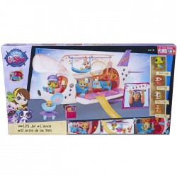 Hasbro - B1242 - Littlest Pet Shop - Zwierzakowy Samolot