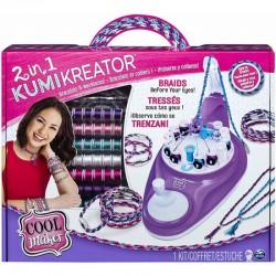 SPIN MASTER Cool Maker Kumi Kreator Zestaw 2w1 MASZYNKA DO ROBIENIA BRANSOLETEK 6053898