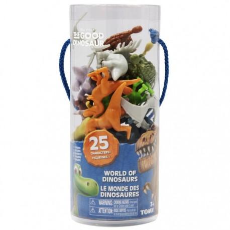 Tomy - L62321 - Disney Pixar - Dobry Dinozaur - 25 Figurek w Tubie