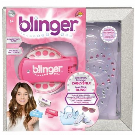 BLINGER Różowe Urządzenie do Stylizacji Włosów 18500