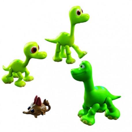 Tomy - L62901 - L62004 - Disney Pixar - Dobry Dinozaur - Figurki Arlo, Libby i Buck