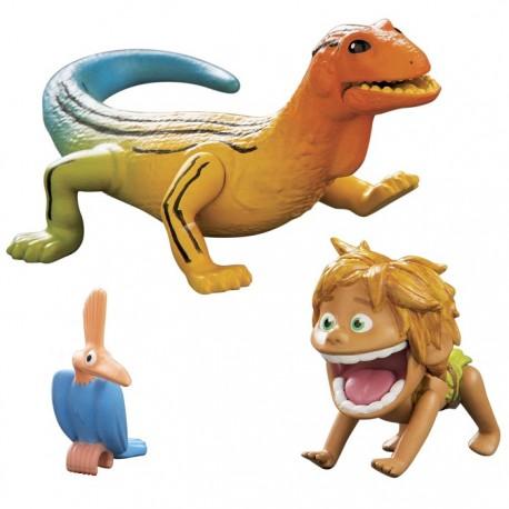 Tomy - L62901 - L62002 - Disney Pixar - Dobry Dinozaur - Figurki Bąbel i Jaszczur