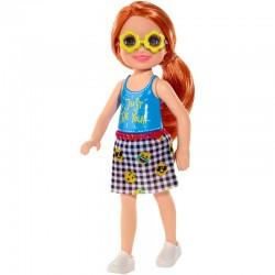 Mattel Mini Lalka Barbie Club Chelsea RUDOWŁOSA DZIEWCZYNKA FXG81