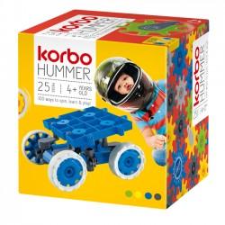 KORBO Klocki Konstrukcyjne HUMMER żółty 25 el. 1402Y