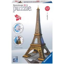 Ravensburger - 12556 - Puzzle 3D - Wieża Eiffla