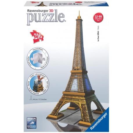 Ravensburger - 125562 - Puzzle 3D - Wieża Eiffla