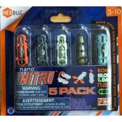 HEXBUG Nano Nitro MIKROROBACZKI 5 szt. 415-4574