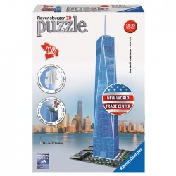 Ravensburger - 12562 - Puzzle 3D - Puzzle 216 - Nowe World Trade Center