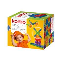 KORBO Klocki Konstrukcyjne BASIC 90 el. 1400