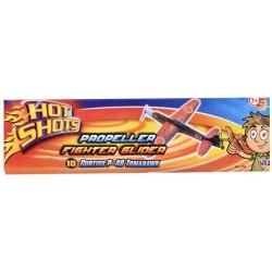HTI TOYS Hot Shots MAŁY SAMOLOT SZYBOWIEC Mix Rodzajów 604