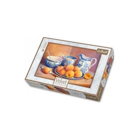 Trefl - 10509 - Puzzle 1000 - Velvet - Morelowy Deser