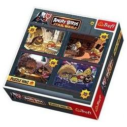 Trefl - 34226 - Puzzle 4 w 1 - Angry Birds - Star Wars - Na Ratunek Galaktyce