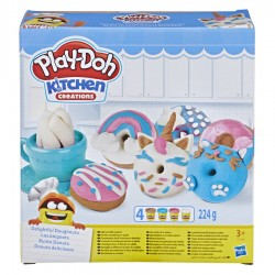Ciastolina Play-Doh KUCHNIA - Pączki i Ciasteczka. E3344
