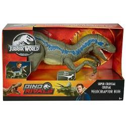 JURASSIC WORLD Dinozaur VELOCIRAPTOR BLUE Figurka Mega Gigant 93 cm GCT93