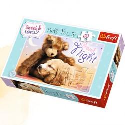 Trefl - 17270 - 60 Elementów - Sweet & Lovely - Słodkich Snów
