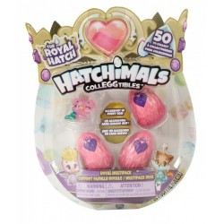 SPIN MASTER Hatchimals Royal Hatch RÓŻOWY PTASZEK i Akcesoria 6047212