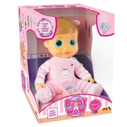 EPEE Lalka Interaktywna BABY WOW Emma 03198